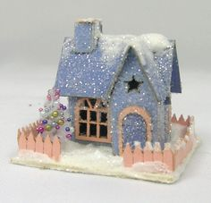 LIttle Star Miniature Putz House Kit [LB-481] : Cynthia Howe Miniatures!, Your premier source for Dollhouse Miniatures, Miniature Classes, Miniature Dolls and Molds, Kits and Free Tutorials.