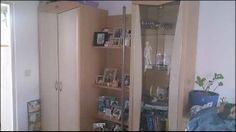Wohnwand 290cm mit TV Teil und extra Phonowagen Bathroom Medicine Cabinet, Lockers, Locker Storage, Furniture, Home Decor, Shelf, Homes, Decoration Home, Room Decor