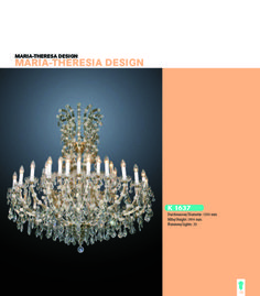 Maria Theresia Design Finest Chandeliers - 15