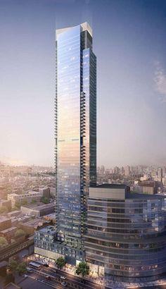 Court Square City View Tower - The Skyscraper Center #futuristicarchitecture