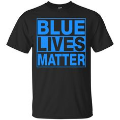 Blue Lives Matter shirt sweater tank sold by iFrogtees