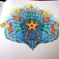 Lost Ocean  #lostocean #johannabasford #enchantedforest #secretgarden #coloringbook #colorindo #arttherapie #arttherapy #pencils #carandache #ocean #sea #anchor #starfish #blue #book #paper #love #happy #sunday #summer #july #hollidays @johannabasford @desenhoscolorir @majesticcoloring @colorindolivrostop @coloring.masterpiece @forum_da_criatividade  Follow me on :  Facebook : http://www.facebook.com/sundaymorningcreationscolorie  Youtube : http://www.youtube.com/c/sundaymorningcrea...