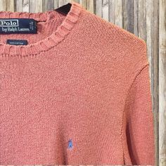 Vintage Polo Sweater Oversized vintage Polo sweater, perfect to pair with leggings for a cute and casual outfit! Polo by Ralph Lauren Sweaters