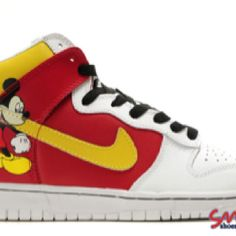 super popular 93fcb c9d41 Nike Dunk High Mickey Mouse Mens Custom For Sale
