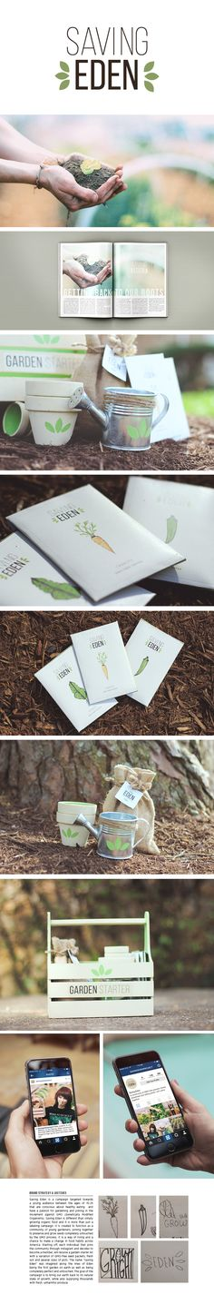 Saving Eden Campaign on Behance