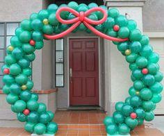 Holiday Wreath - Walk Thru Arch