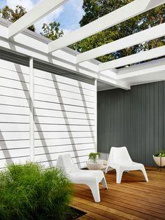 Une terrasse moderne - À la mode Montréal
