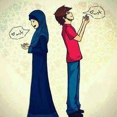 في الجنة حب بلا فراق in paradise there is love without separation.