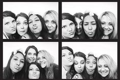 Photo booth girls.