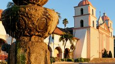 Pacific Coast Highway Road Trip  The Santa Barbara Mission is a must-see for road-trippers driving the PCH