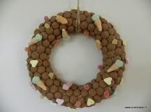 Pepernoten wreath (I made one like this in 2010, it smelled great for weeks!)