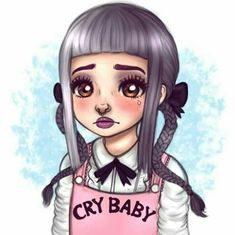 Shared by Klobery. Find images and videos about melanie martinez, crybaby and melaniemartinez crybaby on We Heart It - the app to get lost in what you love. Melanie Martinez Style, Melanie Martinez Anime, Melanie Martinez Drawings, Crybaby Melanie Martinez, Cry Baby, Arte Sketchbook, Fan Art, Emo Goth, Cute Drawings