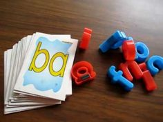 Toddle - Reading, Phonics, Spelling game: 2-letter blends with cards and movable alphabet. - YouTube