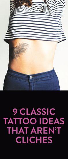 tattoo ideas that aren't cliche