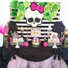 Gracie's Freaky Fabulous Halloween Party! - Monster High
