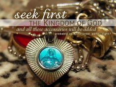 Hipster Devotional #12: Seek First