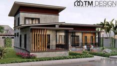 2 Storey House Design, Small House Design, Modern House Design, Cool House Designs, Stilt House Plans, House On Stilts, My House Plans, Home Building Design, Home Garden Design