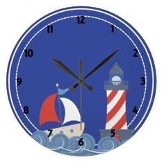 reloj de madera marinero para niño - Buscar con Google