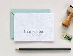 Positano Wedding Invitation Sample - Map and Travel Inspired, Destination Wedding Invitations. $5.00, via Etsy.