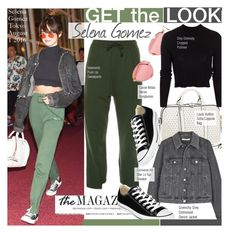 """Get The Look - Selena Gomez"" by kusja ❤ liked on Polyvore featuring Givenchy, ONLY, Converse, GetTheLook, selenagomez, celebstyle and vetements"