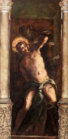 Tintoretto - St Sebastian