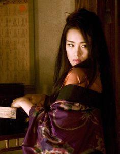 """Gong Li dans """"Mémoires d'une Geisha"""""""