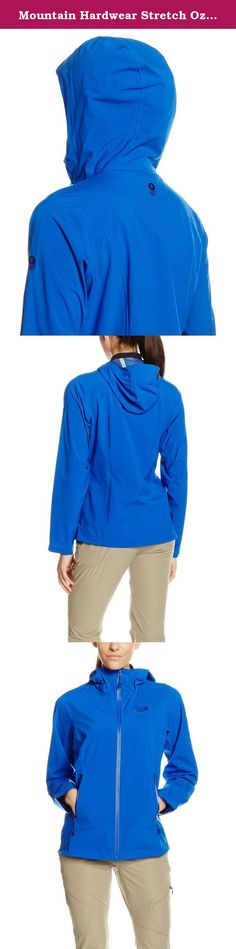 Mountain Hardwear Stretch Ozonic Jacket - Women's Bright Island Blue Medium. A wet-weather backpacking shell with amazing four-way, all-over stretch. The Stretch Ozonic is a lightweight, high-performance 2.5-layer shell that excels on rugged trails in difficult, wet conditions. It boasts our Dry.Q Active technology, which banishes moisture, and is made with a fantastic stretch fabric that will move with you when you need it most.