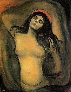 Madonna - Edvard Munch