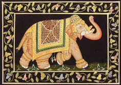 royal indian elephants - Google Search