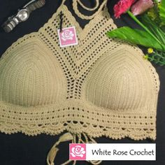 Crochet halter top