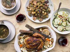 Cookbook author Kim Kushner gives a menu for a modern Rosh Hashanah feast, bringing the Jewish New Year celebration into the new year. Rosh Hashanah Traditions, Rosh Hashanah Menu, Happy Rosh Hashanah, Honey Cookies, Jewish Recipes, Israeli Recipes, Israeli Food, Holiday Dinner, Holiday Fun