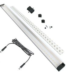 EShine Extra Long 20 inch LED Under Cabinet Lighting Panel with Accessories (No Power Supply Included), Cool White