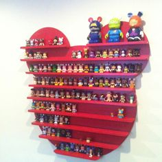 Vinylmation display... om mijn vinylmation popjes te showen! :o)