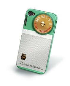 Retro Radio Original Fred & Friends Re Cover Snap-on Case, Rerad For At Vzw Apple Iphone 4 $20.00