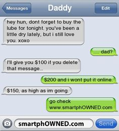 Scarred - - Autocorrect Fails and Funny Text Messages - SmartphOWNED