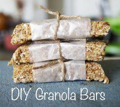 DIY Granola Bars!