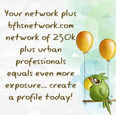 Your network plus bfhsnetwork.com network of 250k plus urban professionals equals even more exposure... create a profile today!  #blackbiz #blackbusiness #urbanevents #supportblackbusiness #blackwallstreet #teamBFHS #powernomics #supportblackbiz #sbbtv #notonedime #blackfriday #blackbusinessmatters #blackdollars  TAG A Black business OWNER we should follow today.
