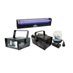 Want a successful party? Use black light, fog, and STROBE LIGHTS!