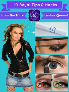 c6875e17745 22 Best Mink False Lashes Tips & Hacks from the Minki Lashes Queen ...