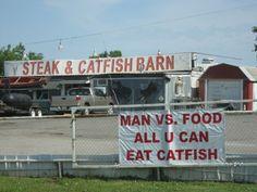 catfish barn.  Say no more.