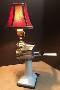 Vintage Upcycled Rival Meat Grinder Lamp Collectible Kitchen Utensiles Hand Made | eBay