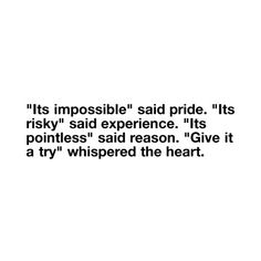 Give everything a try.