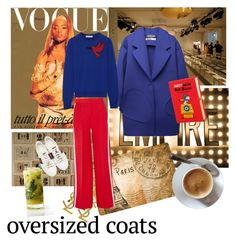"""👗Oversized coats"" by ec300 ❤ liked on Polyvore featuring Yves Saint Laurent, Jacquemus, Mary Katrantzou, Fendi, Gucci and Olympia Le-Tan"