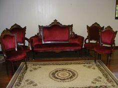 Antique furniture - Victorian Parlor Set