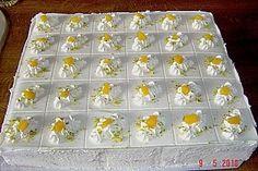 Quark - Pfirsich - Sahne - Torte 1