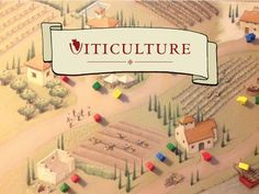 Board Game: Viticulture: The Strategic Game of Winemaking. If you like Settlers of Catan and drinking wine, consider supporting this project. Settlers Of Catan, Heritage Center, Drinking Games, Wine Drinks, Board Games, Projects, Table, Image, Rpg