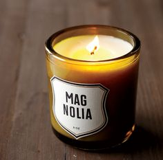 Southern Style: The Guest Room  Candle by Izola  (Photo Credit: Brie Williams)