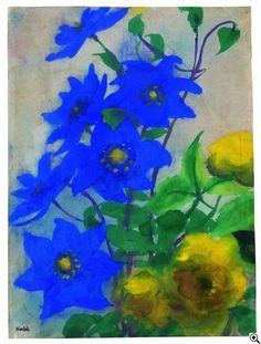 Emil Nolde - Gemälde - Galerie der Rekorde - VAN-HAM Kunstauktionen