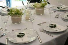 Tischdekoration Taufe Tischdeko