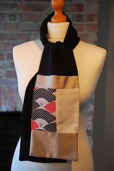 Handmade upcycled kimono scarf by accessoriesdalton on Etsy, £38.50